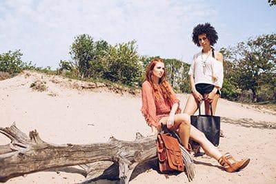 Amisha Zwarte Leren Shopper 4