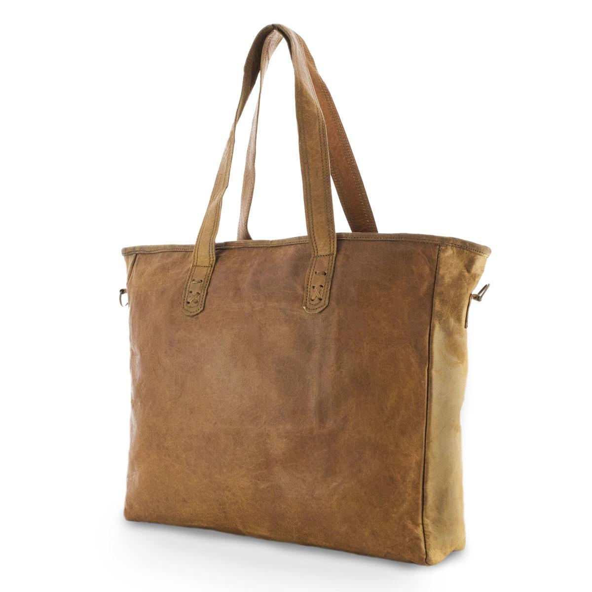 Gadiva Leren shopper -1