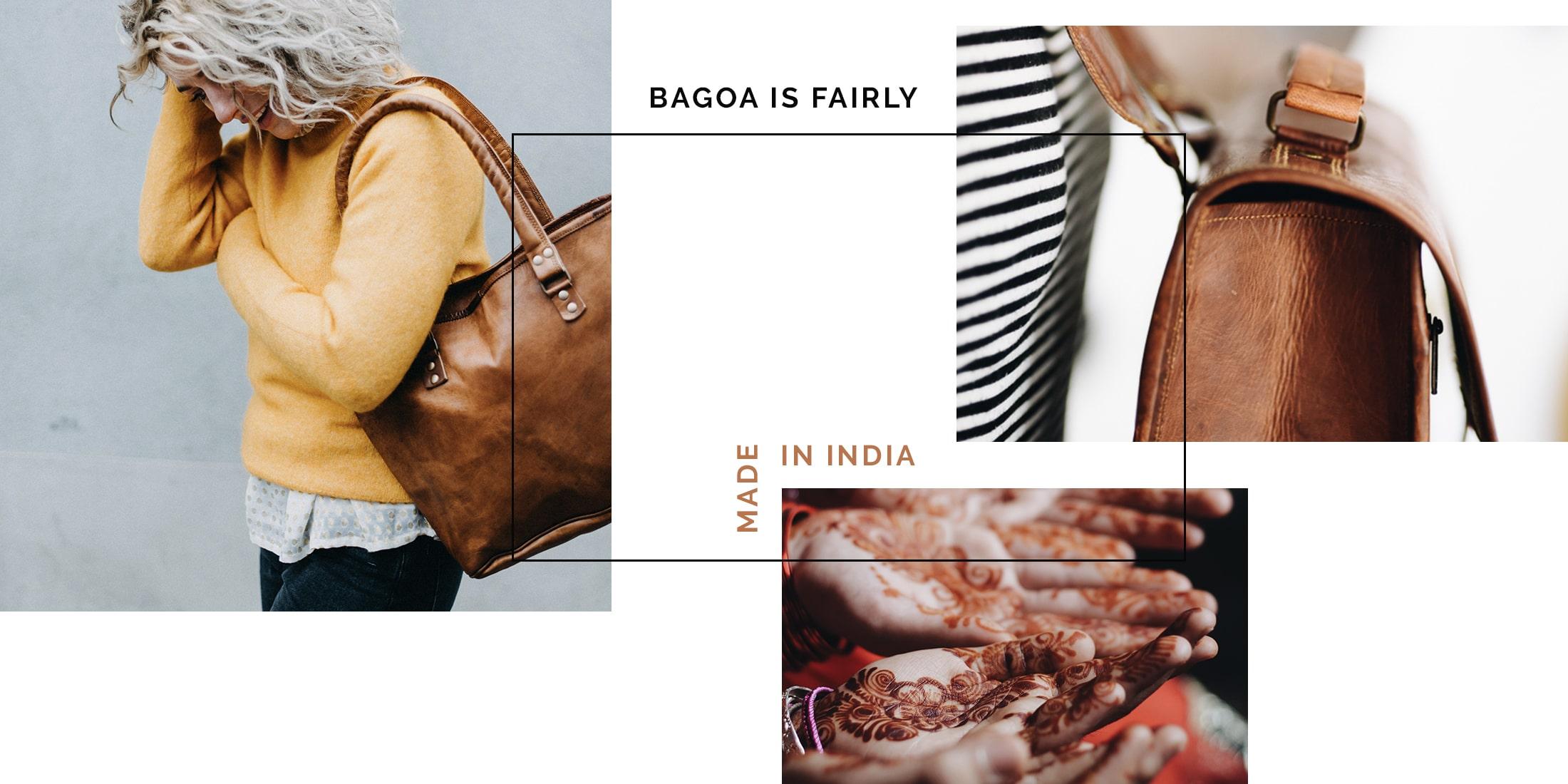 BAGOA - Eerlijk & duurzame tassen handgemaakt in India